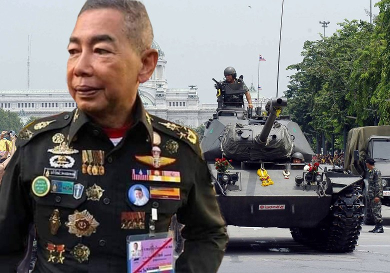 THAILAND-COUP-TANKS